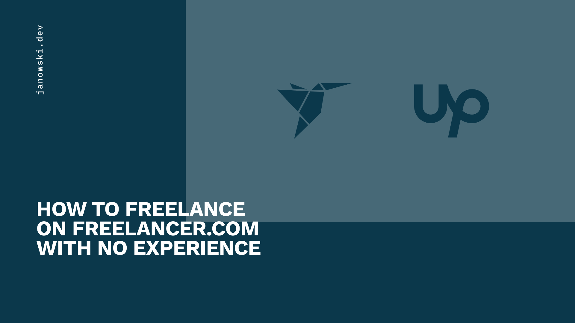 How to Freelance on Freelancer.com with no experience